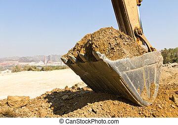 Excavator loader