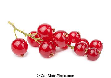 redcurrant isolated