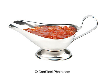 tomato sauce isolated