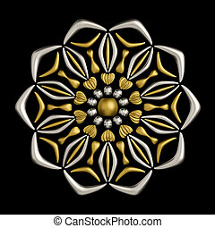 Jewelry brooch design