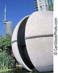 Toronto The Sundial Folly 2004 - The Sundial Folly in...