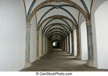 passageway - The passageway in the old palace