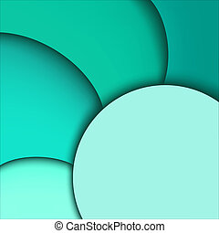 Abstract aquamarine background