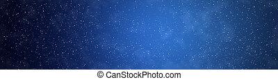 Star on sky night