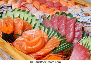 Sashimi  - japanese food