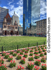 Copley Square in Boston - Copley Square is a public square...