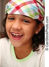 Bandana - Girl with a bandana on