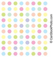Color, círculos, fondo