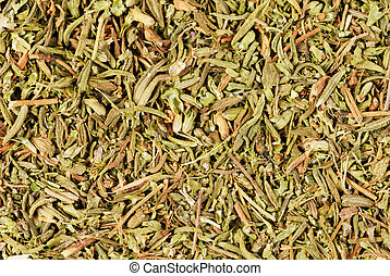 herb thyme to use as food background