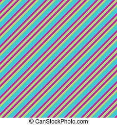 Blue Pink Lime Diag Stripe Paper - diagonal Stripe Paper or...