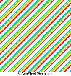 Bright Colors Diag Stripe Paper - diagonal Stripe Paper or...