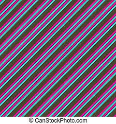 Pink Blue Brown Diag. Stripe Paper - diagonal Stripe Paper...