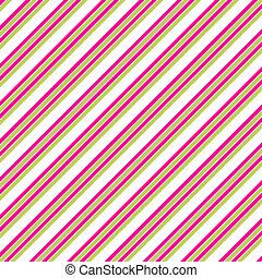 Pink White Lime Diag. Stripe Paper - diagonal Stripe Paper...