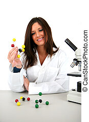 Science - Woman in a lab
