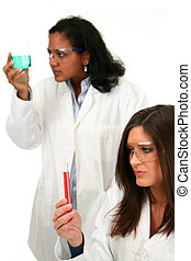 Science - Team of workers in a lab