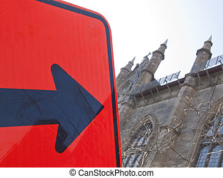 This Way To Church