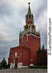 Moscow kremlin, tower, chimes