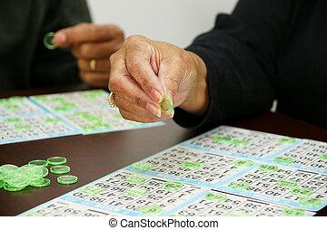Bingo - Playing Bingo