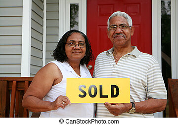 Sold - Minority couple selling their home