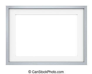 Frame. - Picture frame of Steel. Slightly rounded edges....