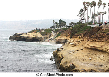 La Jolla coves at San Diego California