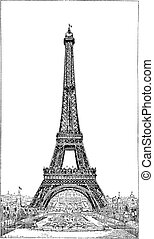 Eiffel Tower, brought up by the engineer Gustave Eiffel,...