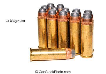 41, magnum, munição