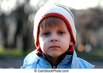 blue eyes boy