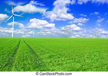 風車, 概念, イメージ