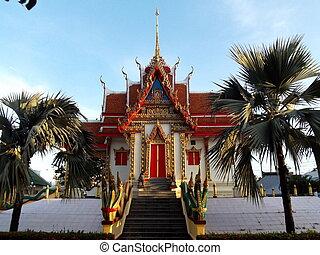 church - Thai church in local province