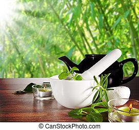 Herbal Tea - Nature still life