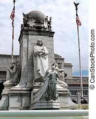 Washington Columbus Memorial - The Columbus Memorial in...