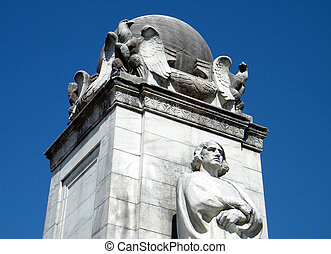 Washington Columbus Memorial - Top of the Columbus Memorial...