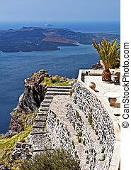 Santorini summer resort in Greece - Santorini summer resort...