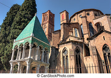 church of S Francesco in Bologna - antique church of S...