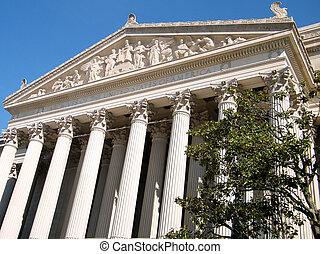 Washington National Archives Pediment