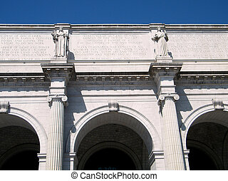 Washington Union Station Pediment - Pediment of Union...