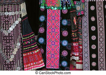 Hmong traditional clothes - Hmong tribe traditional clothes...