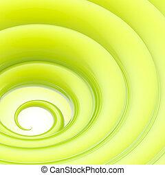 Abstract wavy vortex twirl background