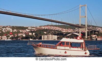 Bridge view at Ortakoy, Istanbul