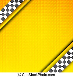 Racing template, taxi backdrop - Racing orange background,...
