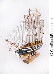 Skepp, modell