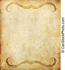old grunge paper background with vintage style