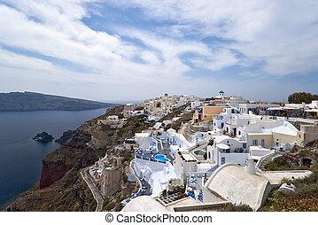 Ia village panorama