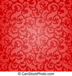 abstract seamless wallpaper - Red abstract seamless...