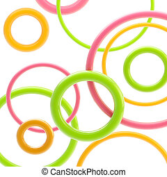 Abstract background made of circles