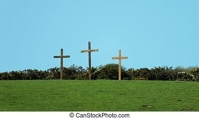 three crosses for Easter