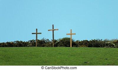 交叉, 復活節, 三