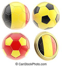 Belgium football team attributes isolated