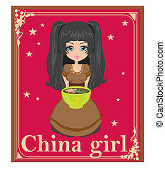 sweet china girl
